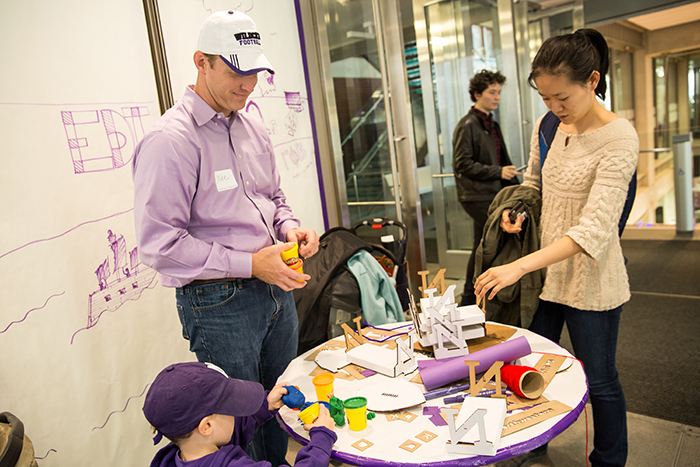 Getting crafty becomes a family affair at Prototype Purple.